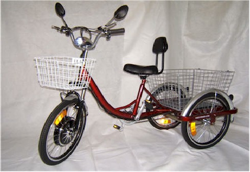 CozyTrike adult electric tricycle