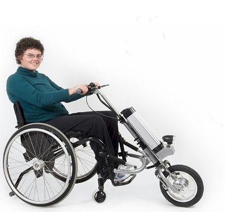 Electric Wheelchair-Cycle