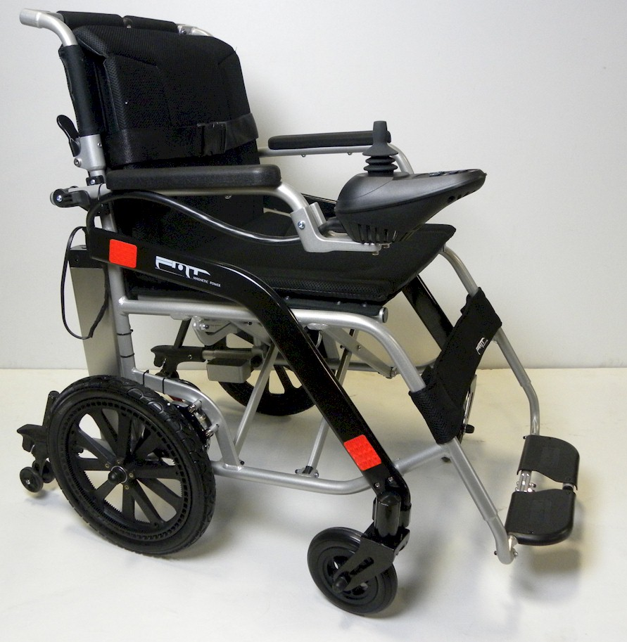 lightNfold electric folding lightweight wheelchair