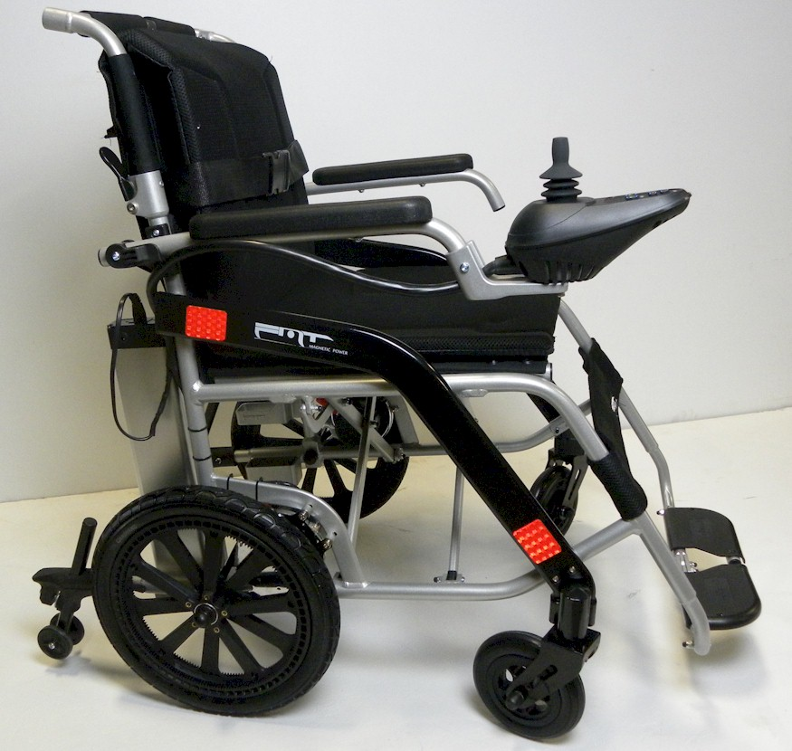 LightNfold Lightweight Electric Folding Wheelchair