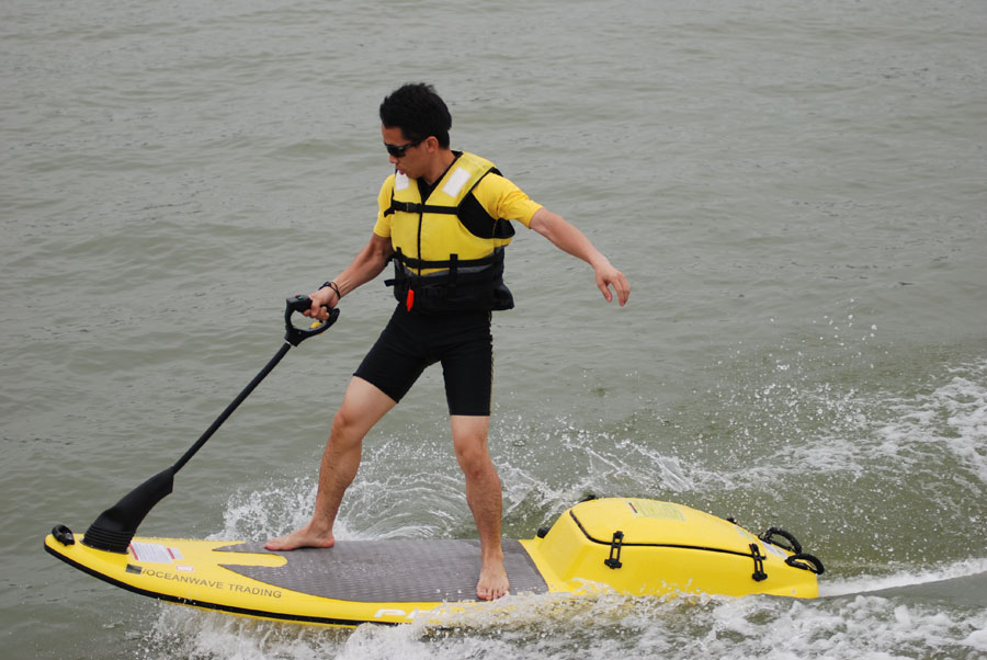 WaveTrader WT-125 Motorized Surfboard