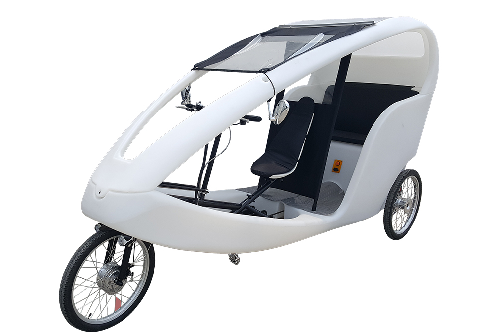 Electric Velotaxi Pedicab Tricycle